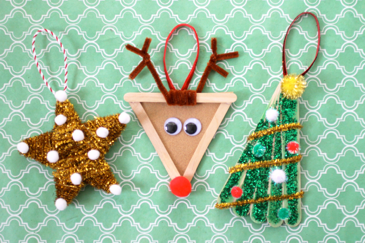 christmas decoration ideas that kids can diy - Christmas Decoration Craft Ideas