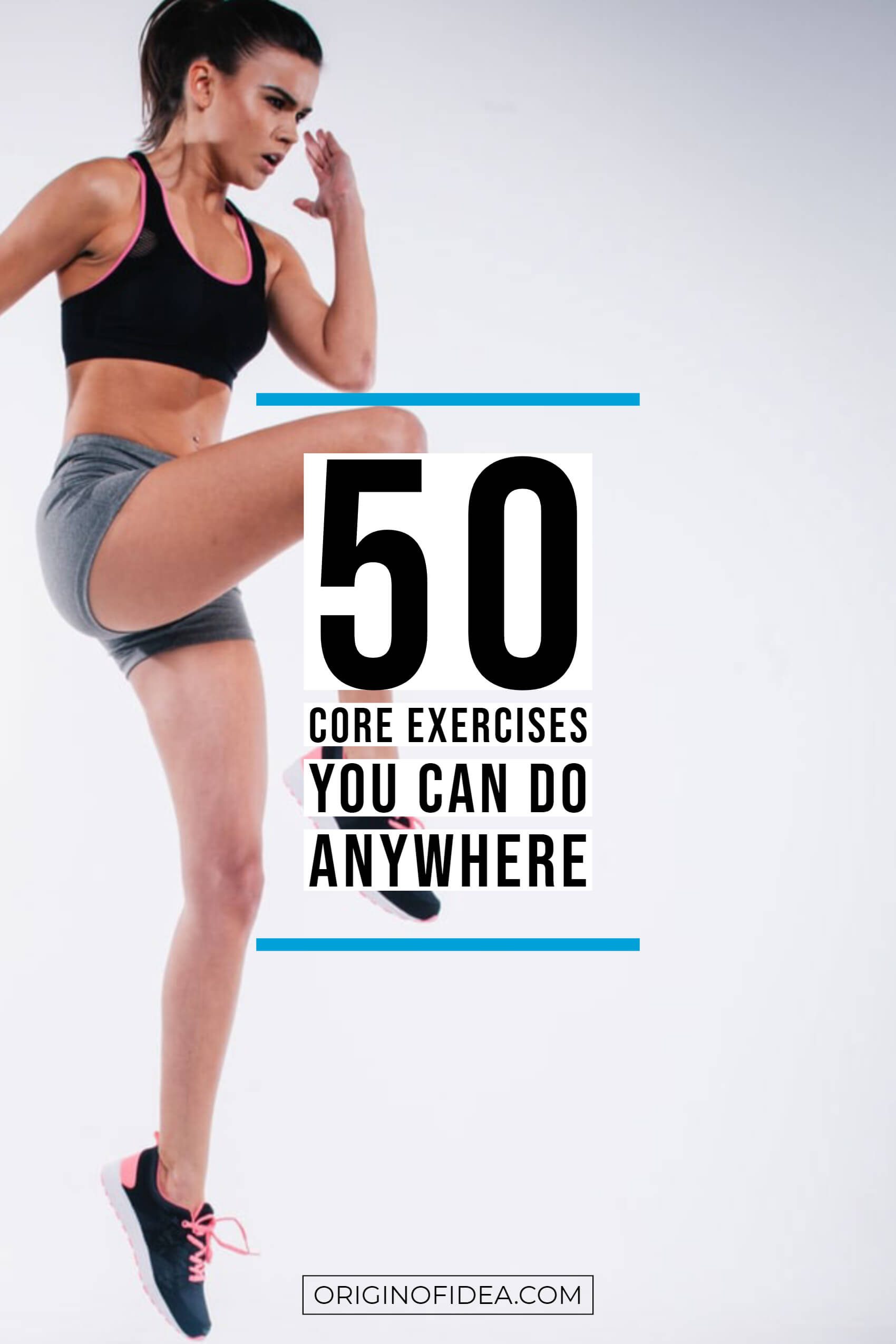 Core Exercises you can do anywhere