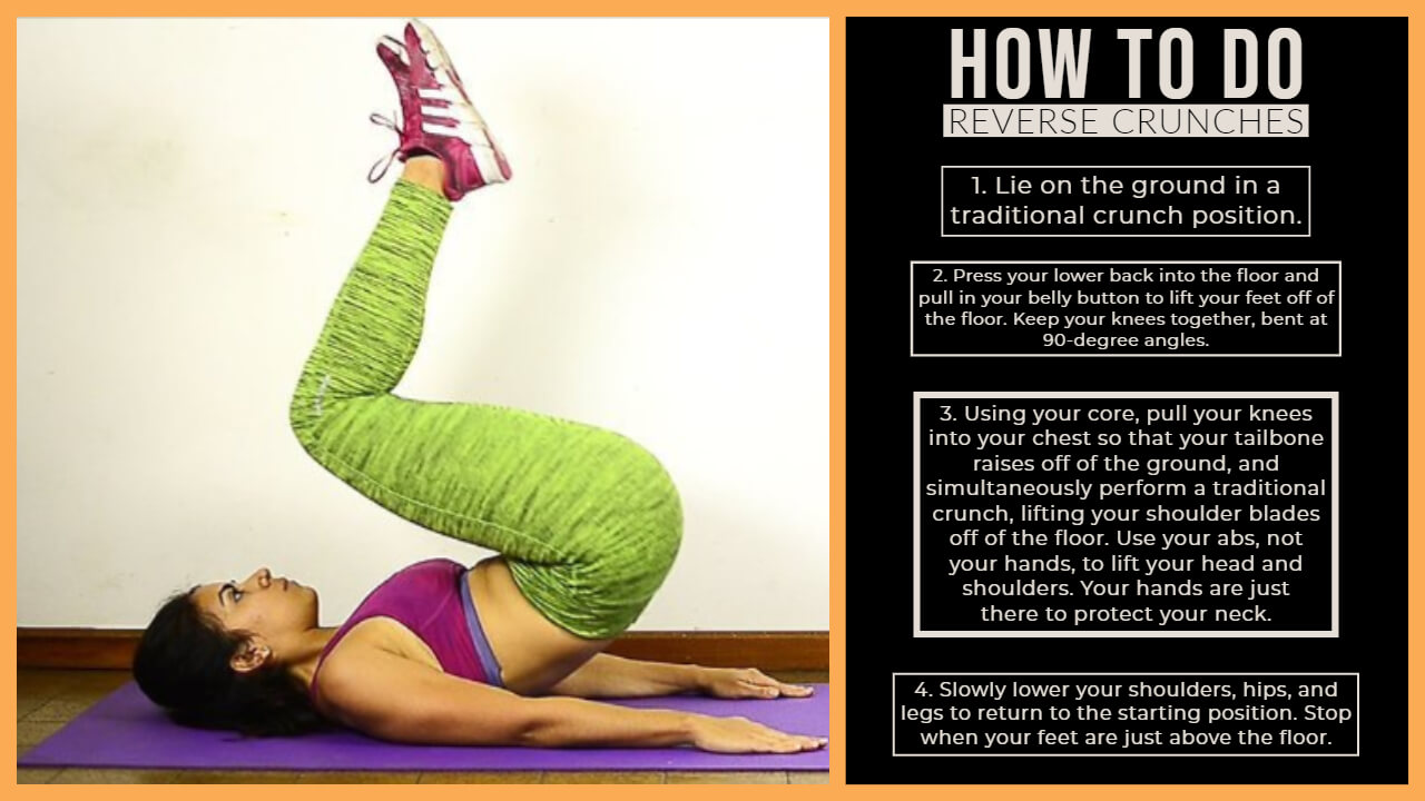 Reverse Crunches